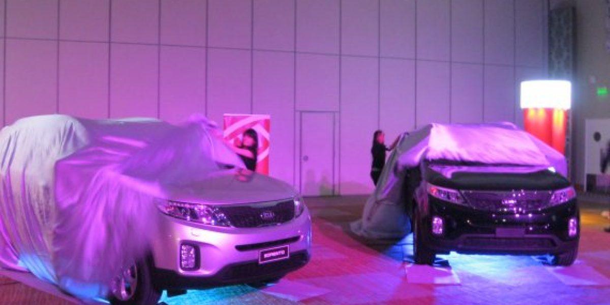 FOTOS: La recién destapada Kia Sorento llegó desde $14.490.000