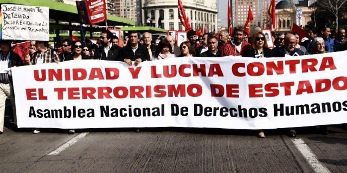 [FOTOS] Organizaciones de derechos humanos marchan para conmemorar el 11 de septiembre