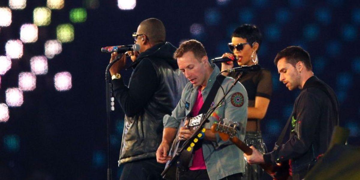 [FOTOS] Rihanna, Coldplay y Jay-Z cierran ceremonia de los Juegos Paralímpicos en Londres