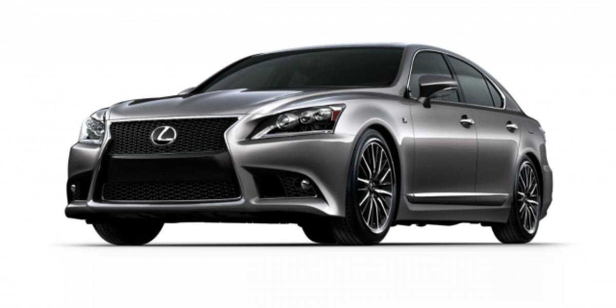 Lexus lanza su nueva gama de LS