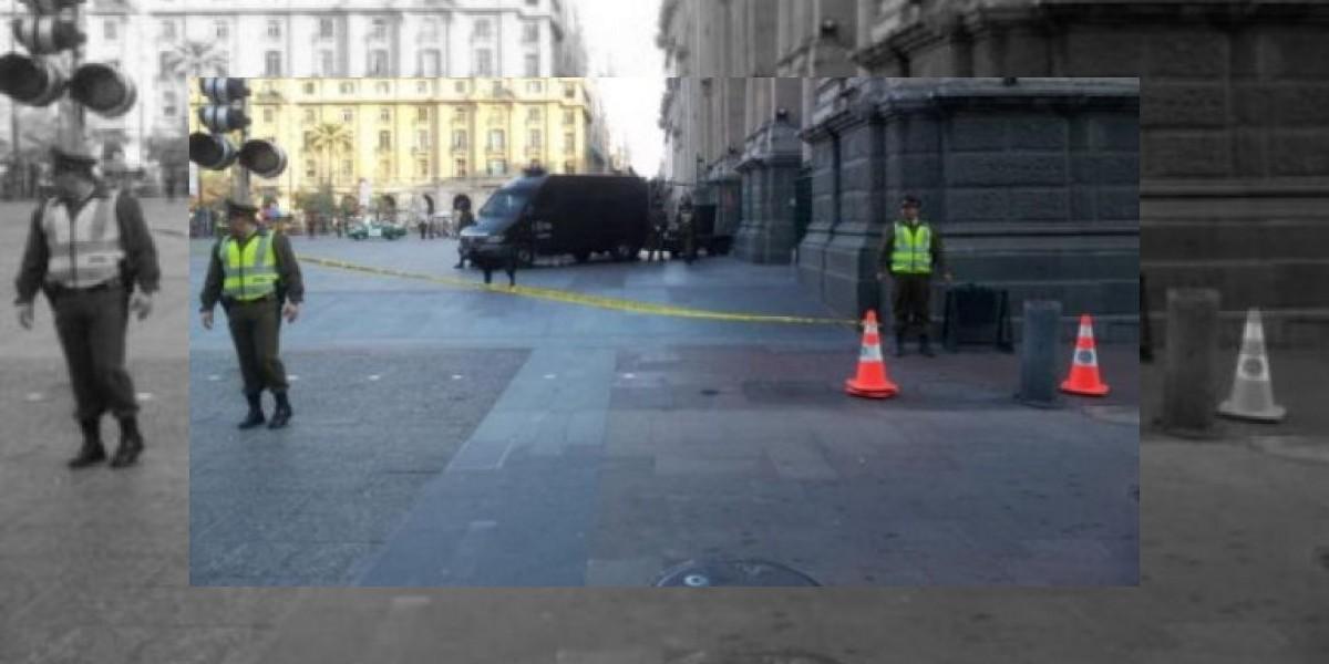 Carabineros desactiva bomba encontrada en la Catedral de Santiago