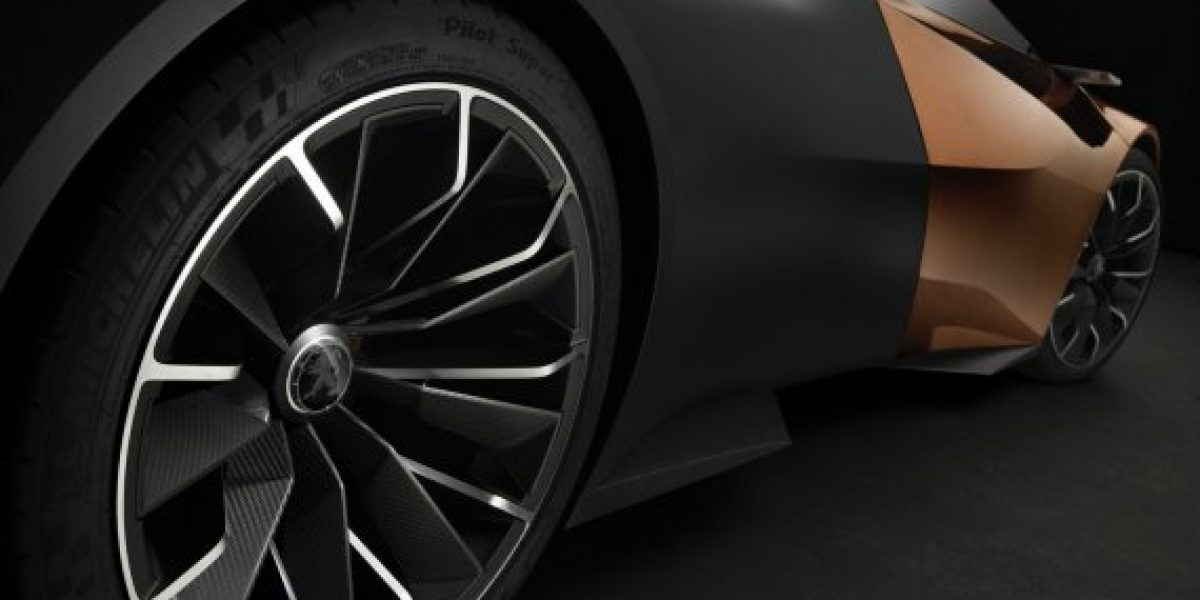 FOTOS: Onyx, el concepto superdeportivo híbrido de Peugeot