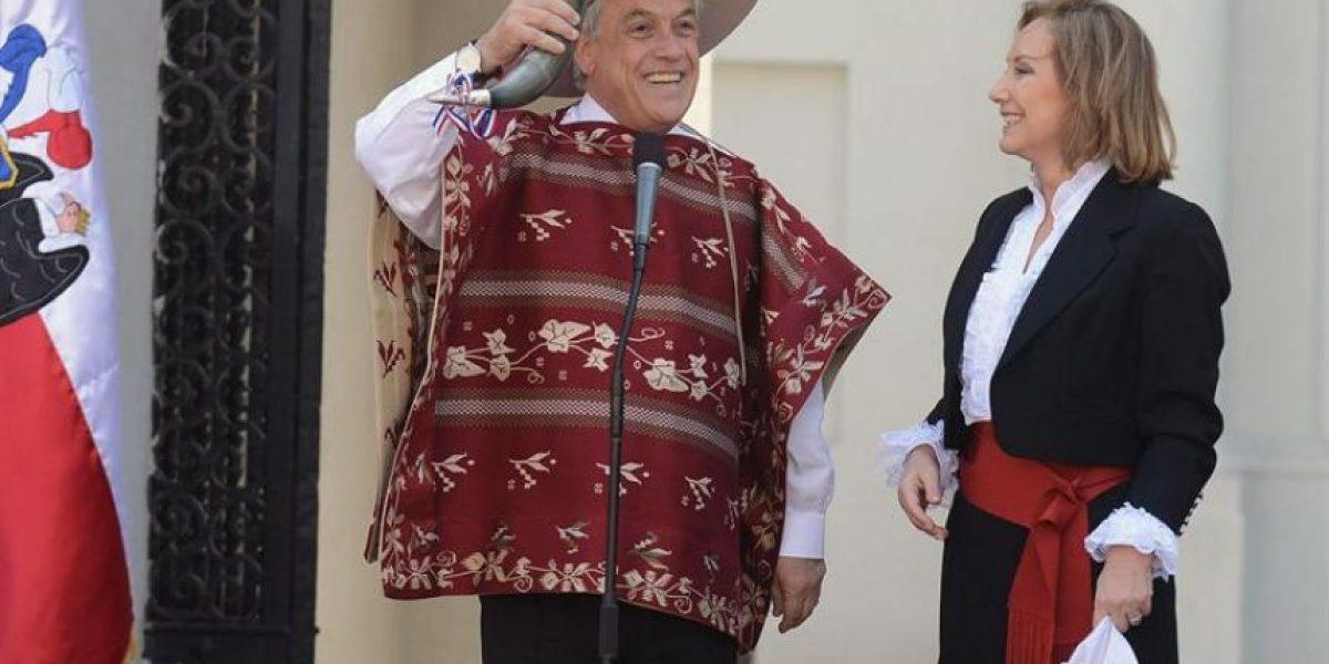 [FOTOS] El Presidente Piñera ya comenzó las celebraciones