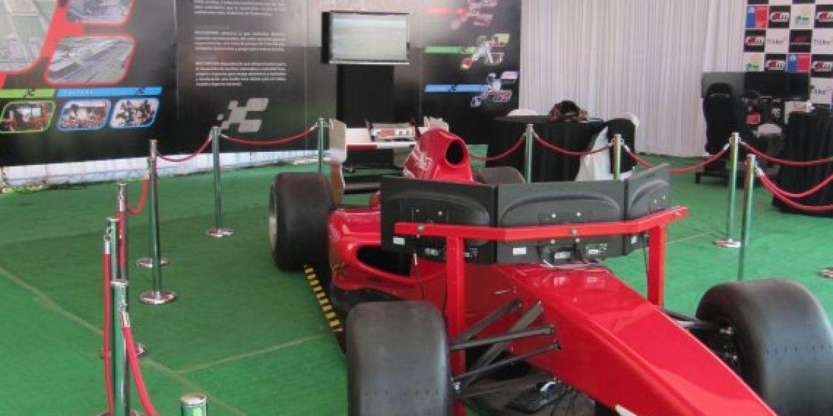 FOTOS: El simulador de F1 que te permite correr por el primer Motorpark de Chile