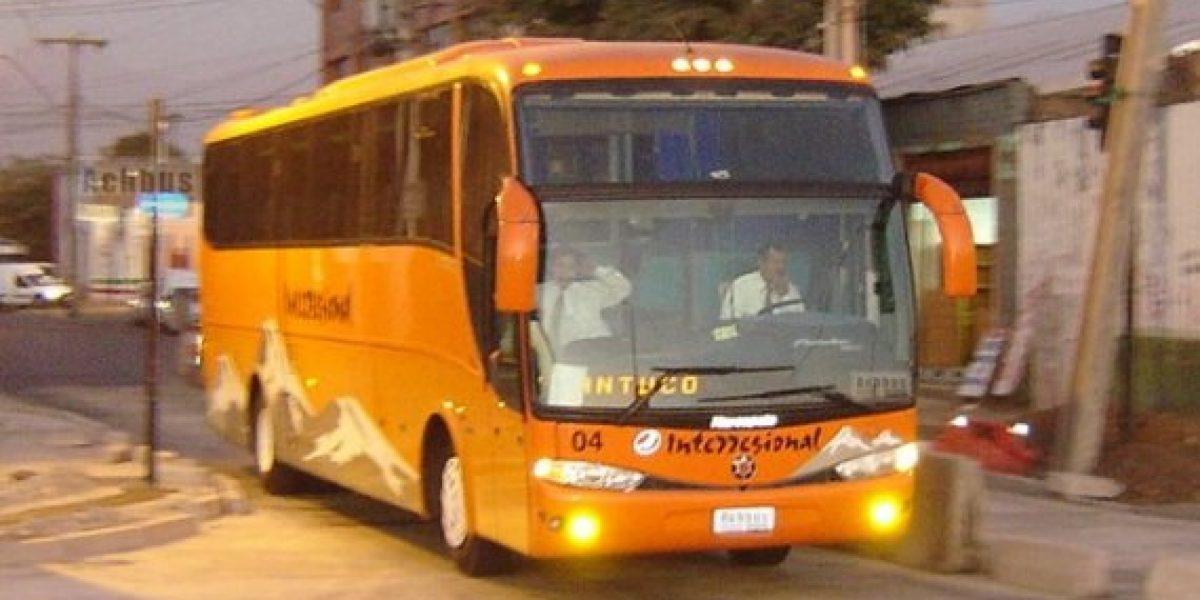 ¡Cuidado al volver de las fiestas! Estas son las 10 empresas de buses más multados