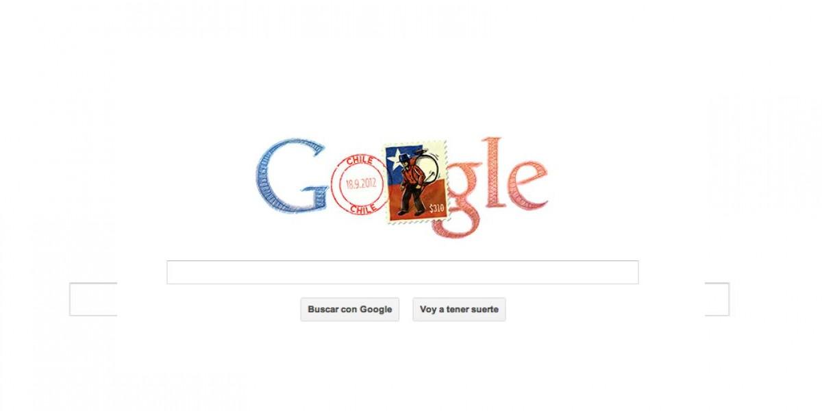 Google homenajea a Chile este
