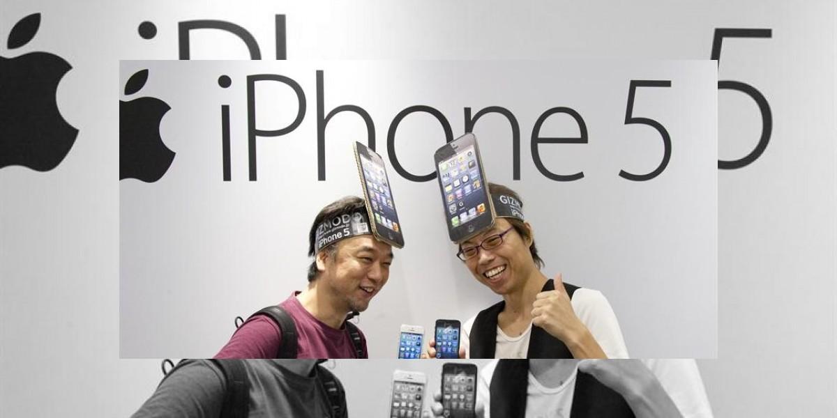 Roban más de 200 iPhone 5 el día de su lanzamiento en Japón