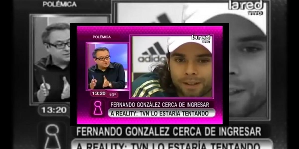[VIDEO] TVN estaría tentando a Fernando González para que ingrese a su nuevo reality