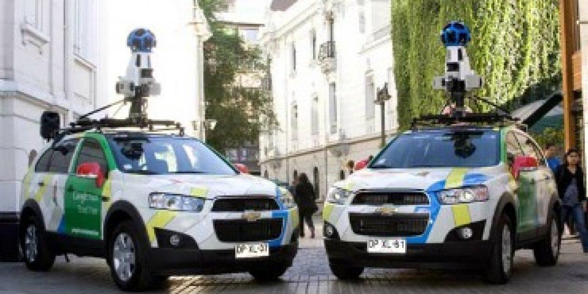 Conoce los autos que trabajan para Google Street View