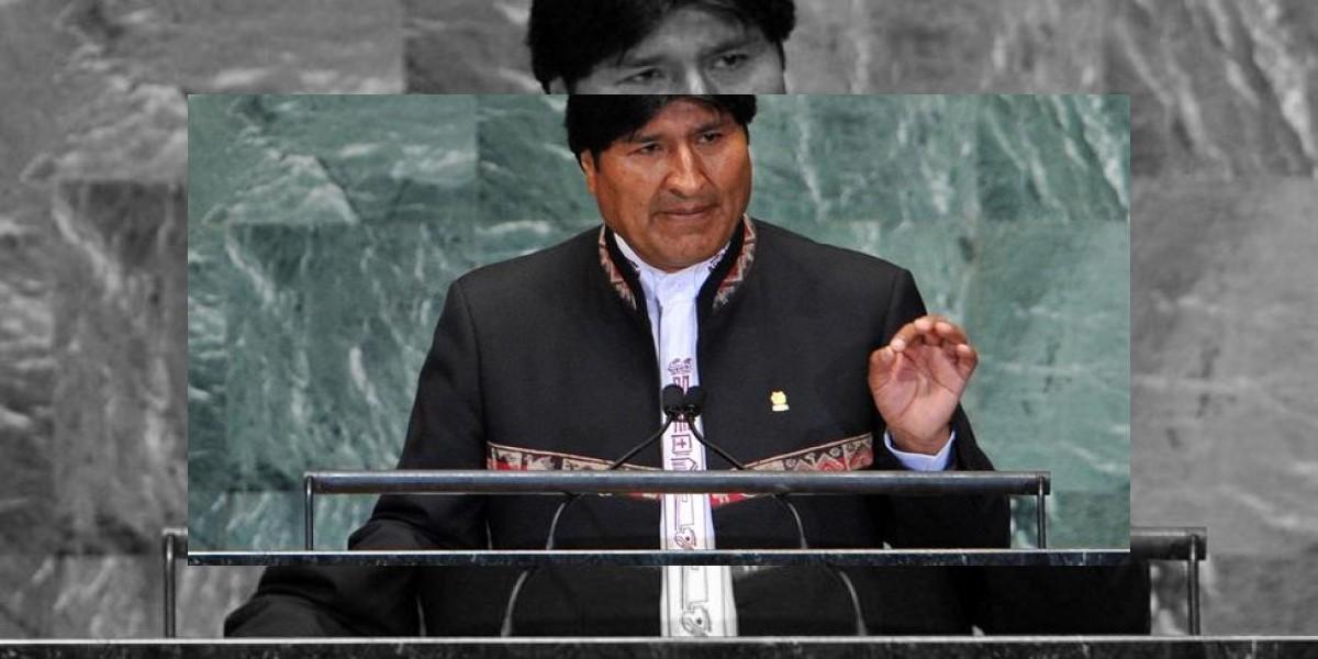 Evo Morales vuelve a emplazar a Chile en la ONU por una salida al mar