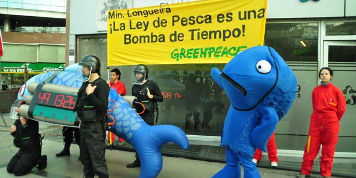 Greenpeace llevó