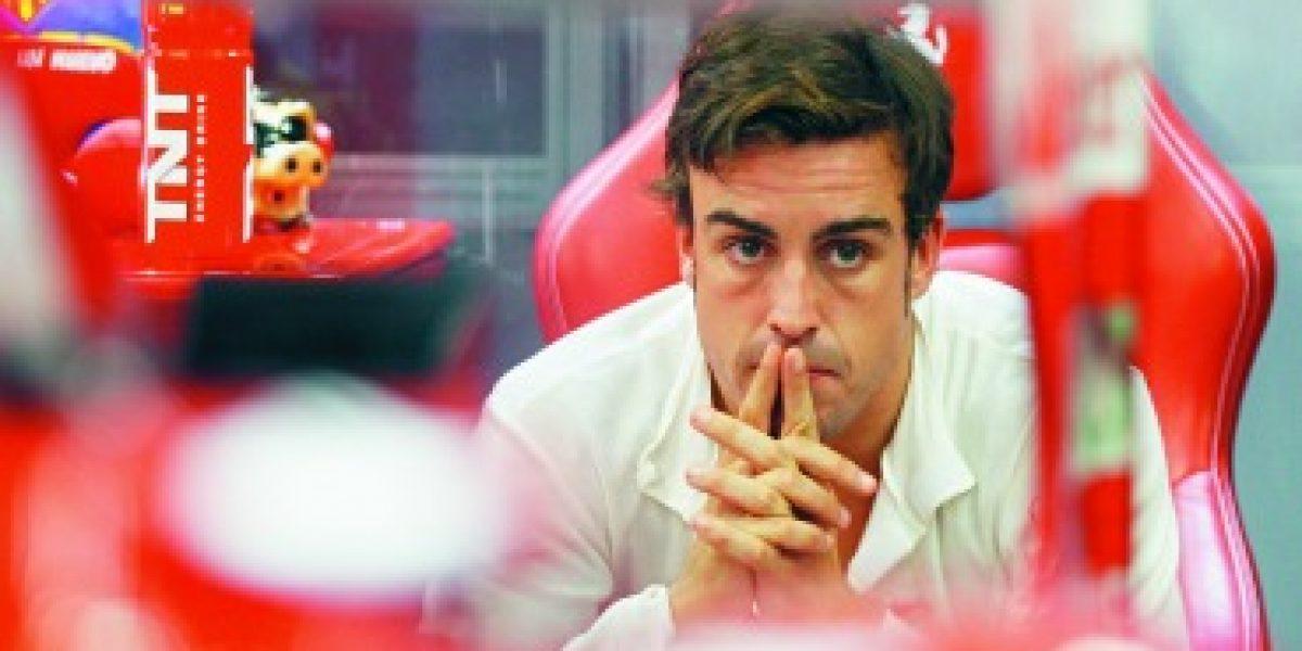 FORMULA 1: Fernando saca la calculadora