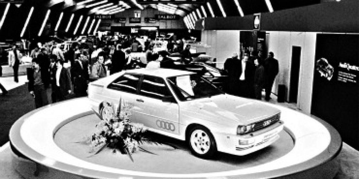 AUTOS CON HISTORIA : Audi Quattro