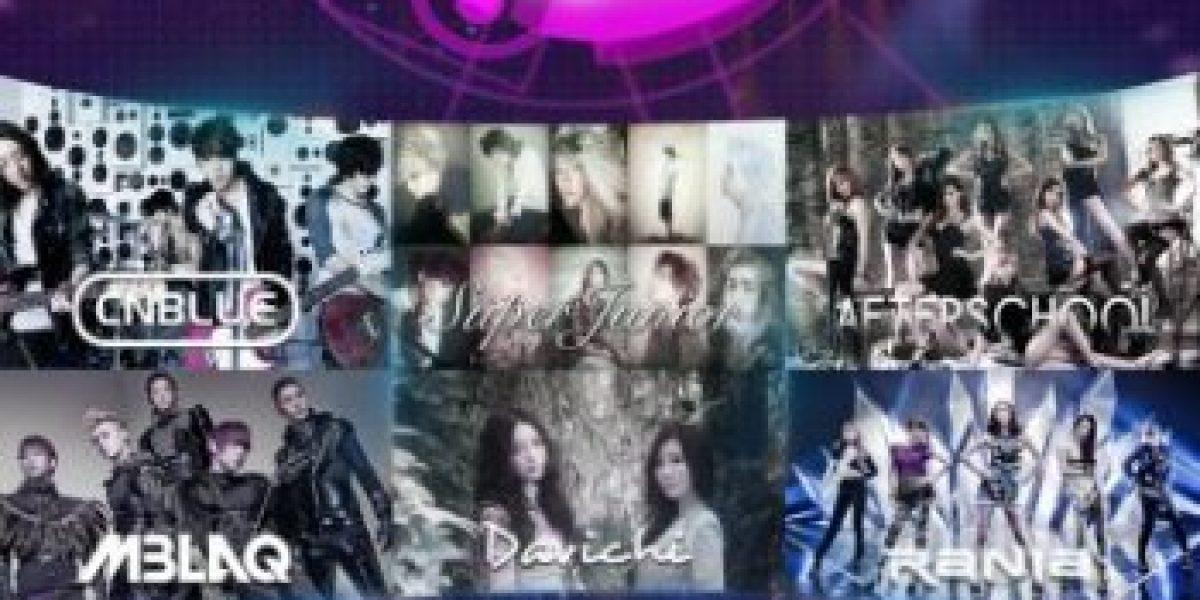 El K-Pop se toma Chile con el Festival Music Bank