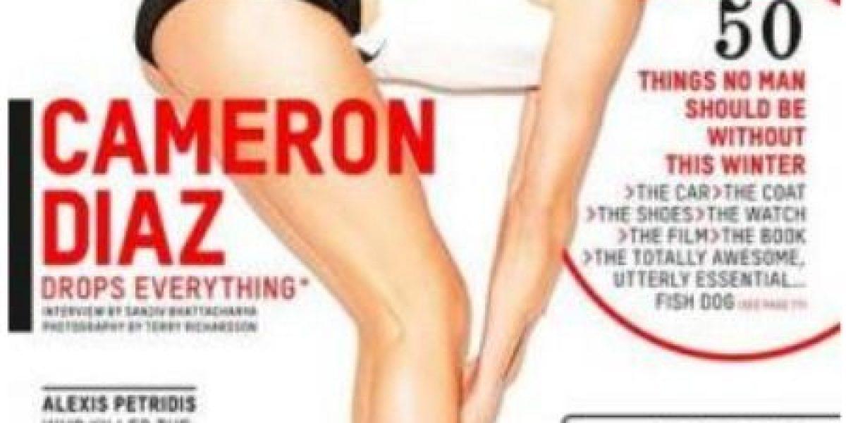 Cameron Díaz a sus 40 años posa más sexy que nunca para revista Esquire
