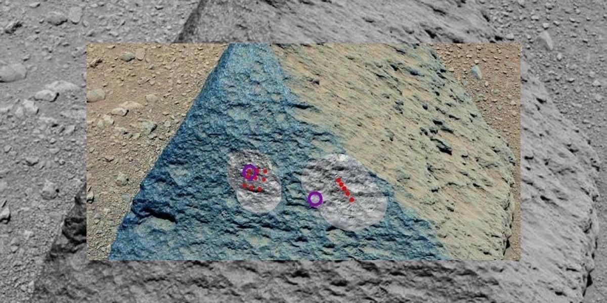 Sorpresa: Curiosity halla en Marte una piedra  parecida a las de la Tierra