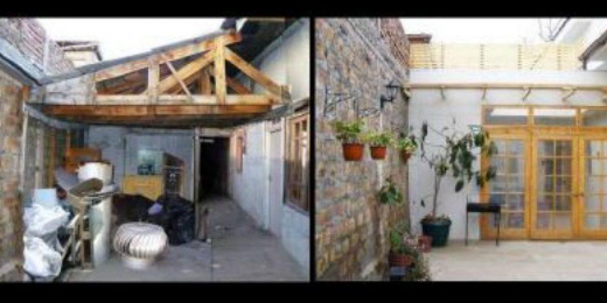 Reciclaje: una casa remodelada de desechos