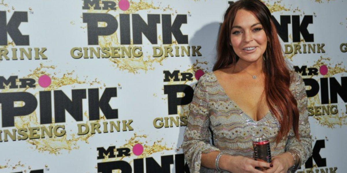 Lindsay Lohan reaparece públicamente tras escándalo con su madre