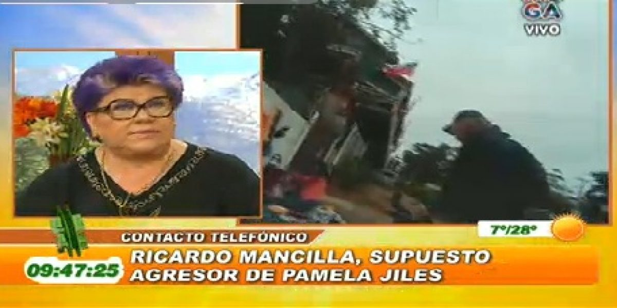Supuesto agresor de Pamela Jiles rompe el silencio