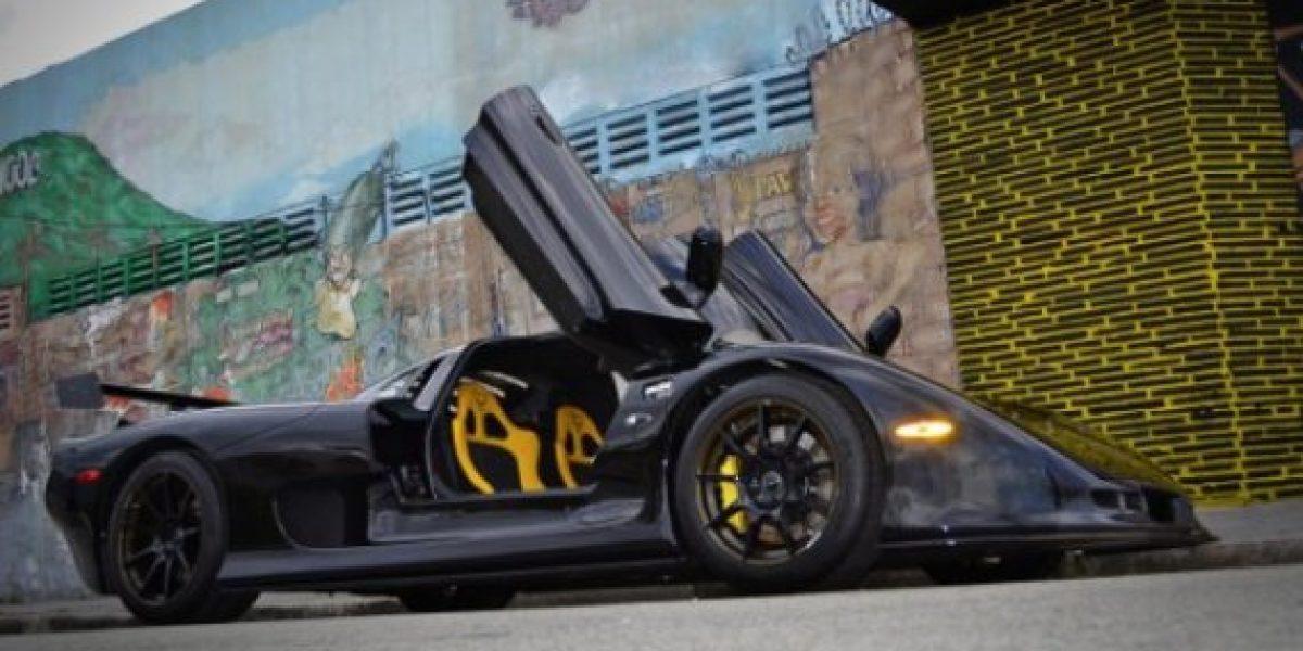 Mosler Raptor GTR... un lujo que se paga