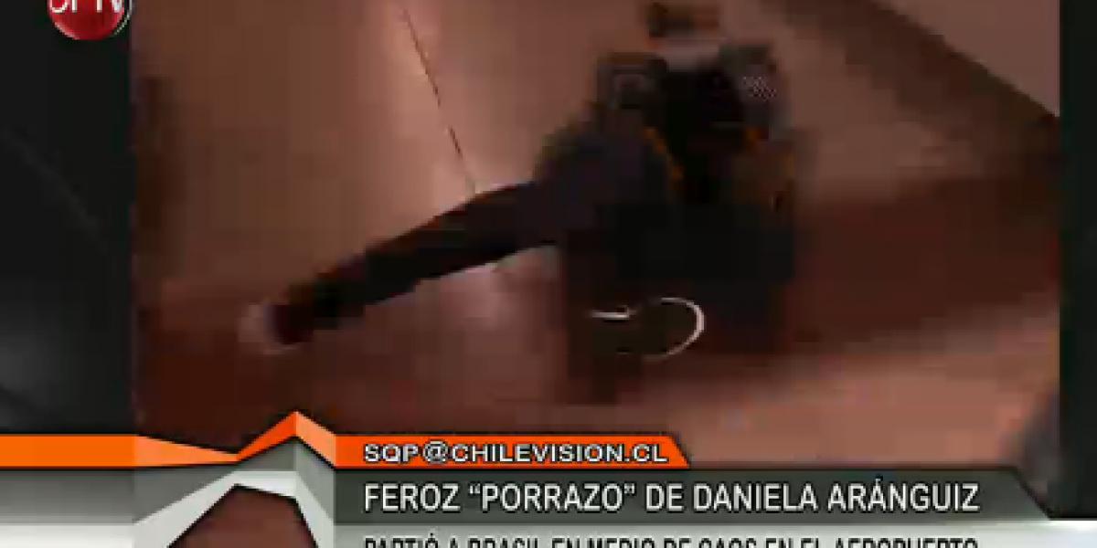 Daniela Aránguiz y su feroz