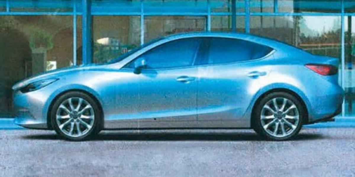 Así sería el nuevo Mazda3
