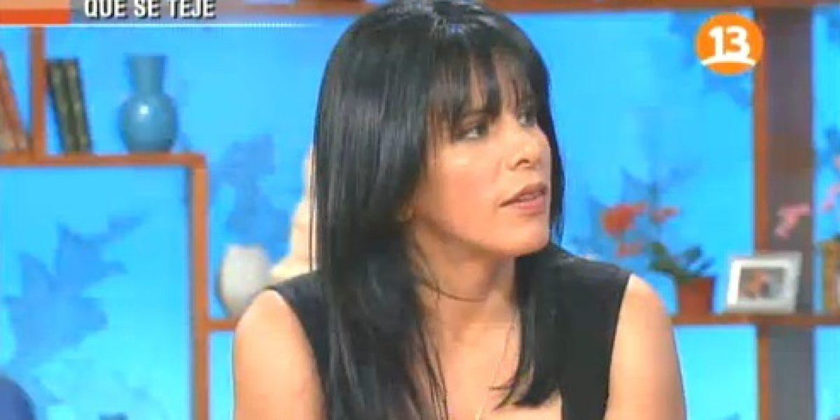 Anita Alvarado contó por qué estuvo con Enzo Corsi