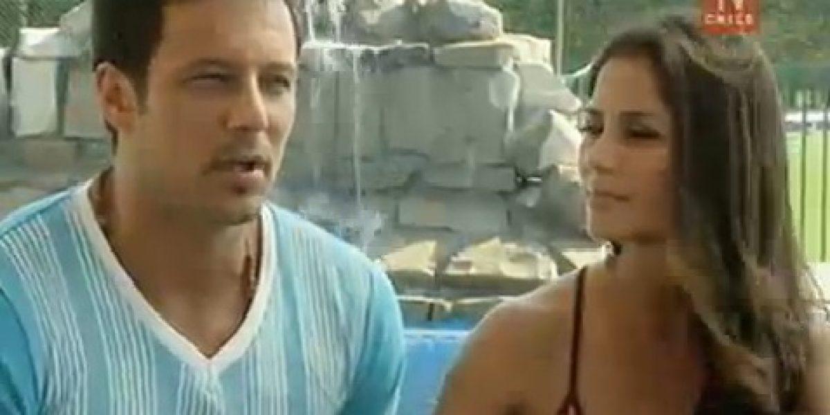 Fabricio Vasconcellos y Mariela Román se confesaron en BDAT