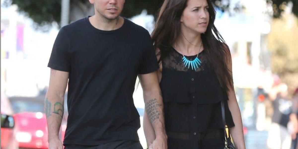 Residente y su novia argentina captados paseando por Hollywood