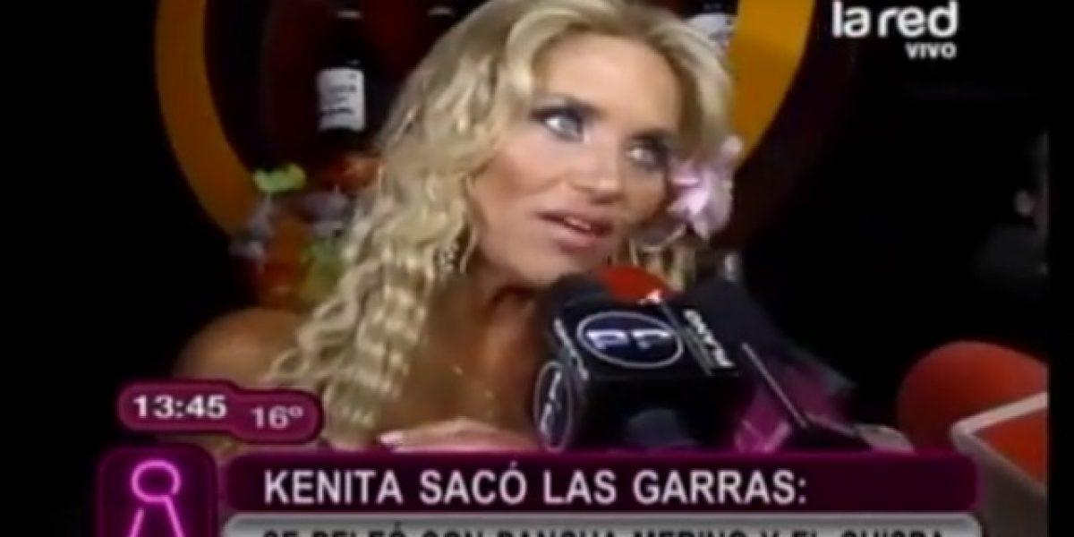Kenita Larraín se enfrentó con Francisca Merino y Chispa en vivo