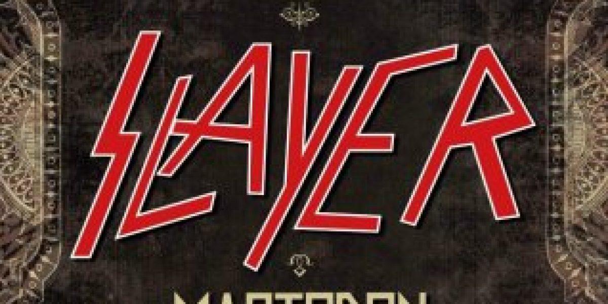 Show de Slayer y Mastodon agotan 50% de cancha en pocas horas