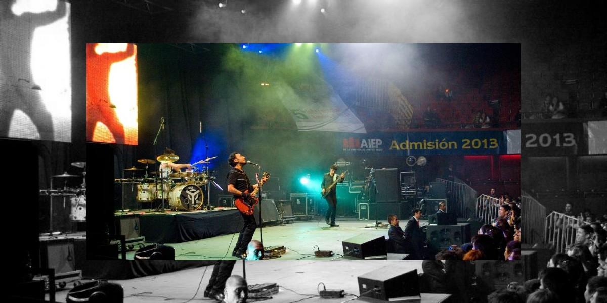 "Cover de ""Deja Vu"" vence en interescolar de bandas AIEP 2012"