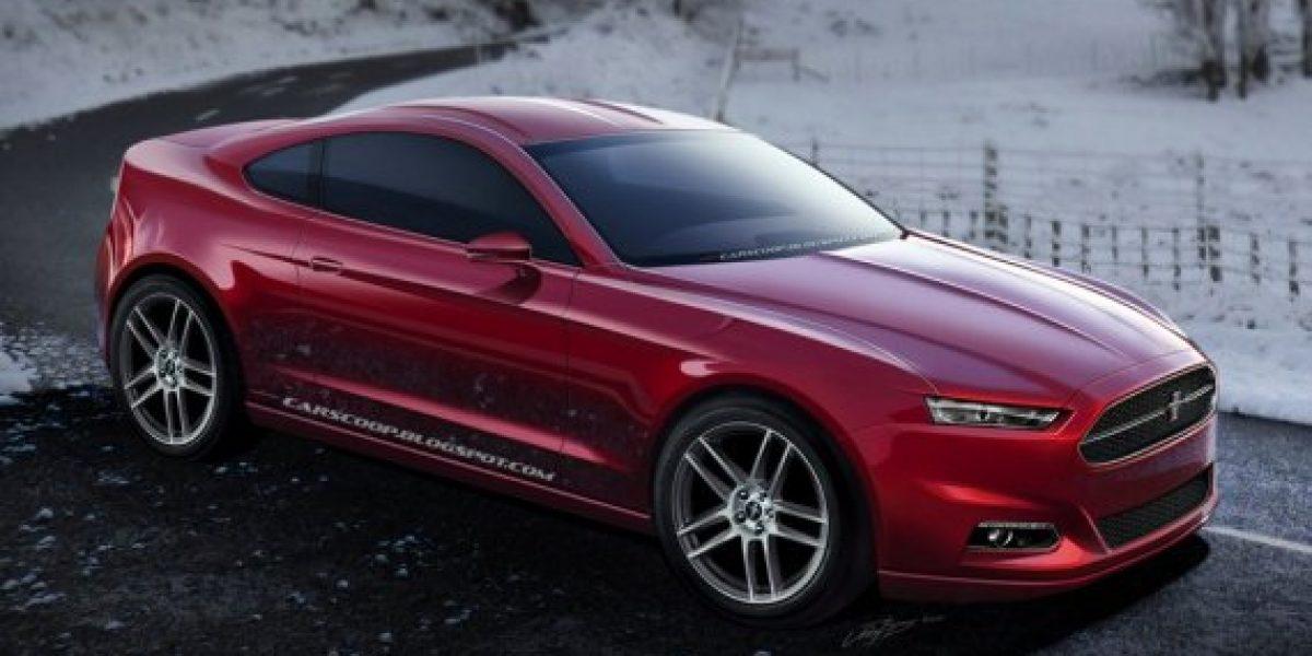 Así sería el Ford Mustang 2015