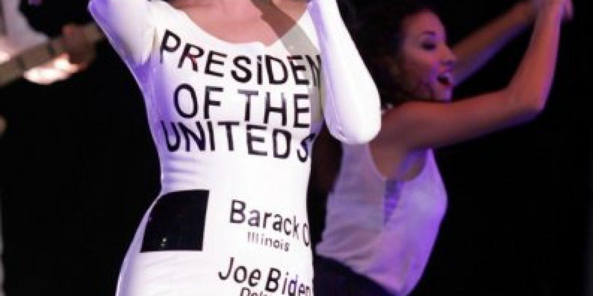 Katy Perry y su particular apoyo a Obama