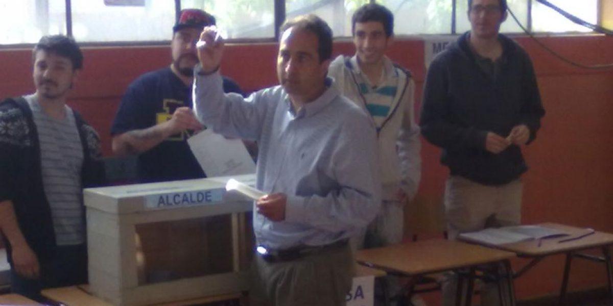 Pablo Zalaquett frente a una derrota: