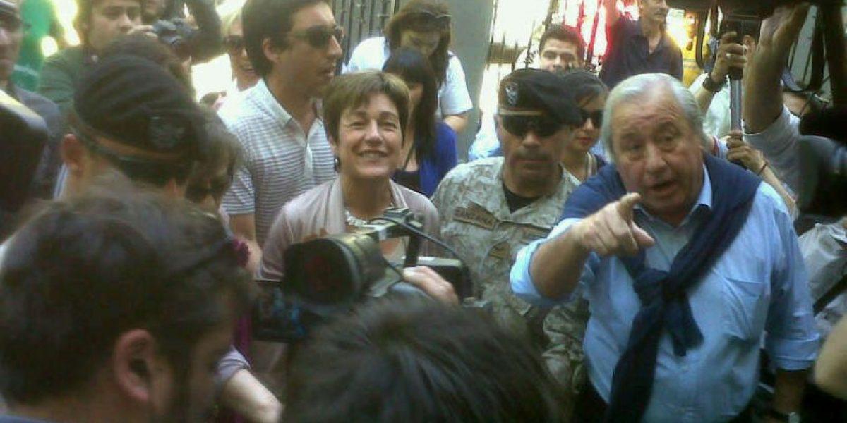 Josefa Errázuriz y manifestación contra Labbé: