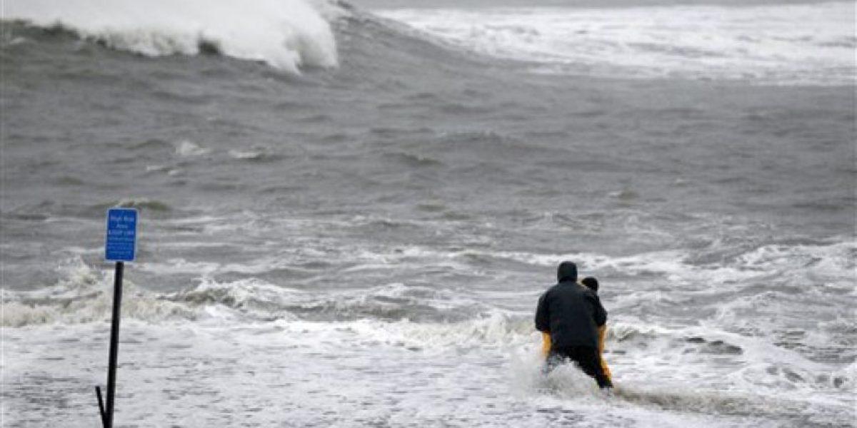 Las mejores imágenes de la llegada del huracán Sandy a Estados Unidos