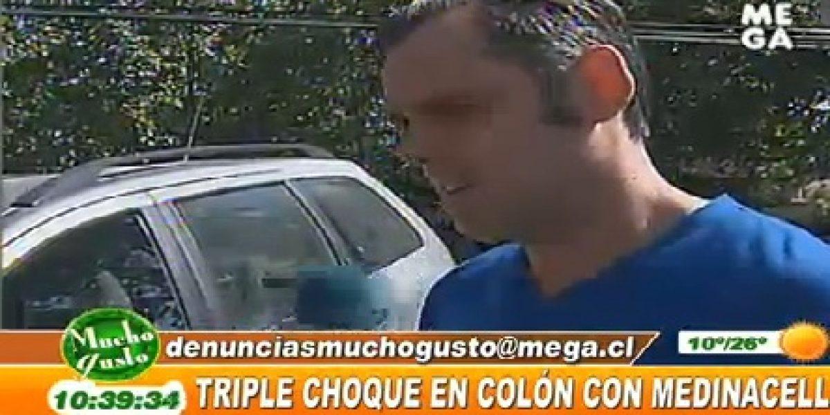 José Miguel Villouta fue protagonista de accidente de tránsito