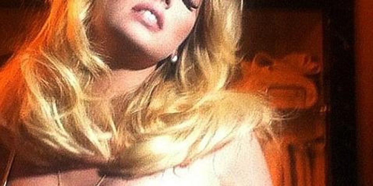La espectacular Kate Upton sube sensuales fotos a Twitter