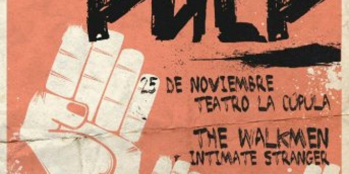 Pulp agenda show en solitario en La Cúpula