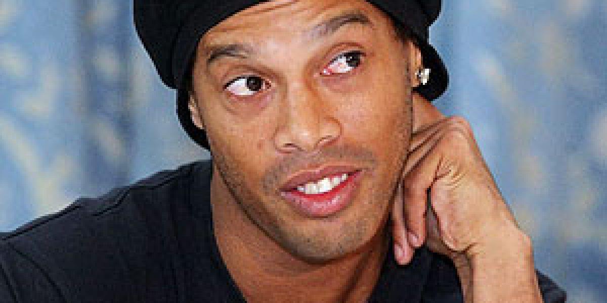 Ronaldinho envuelto en accidente de tránsito