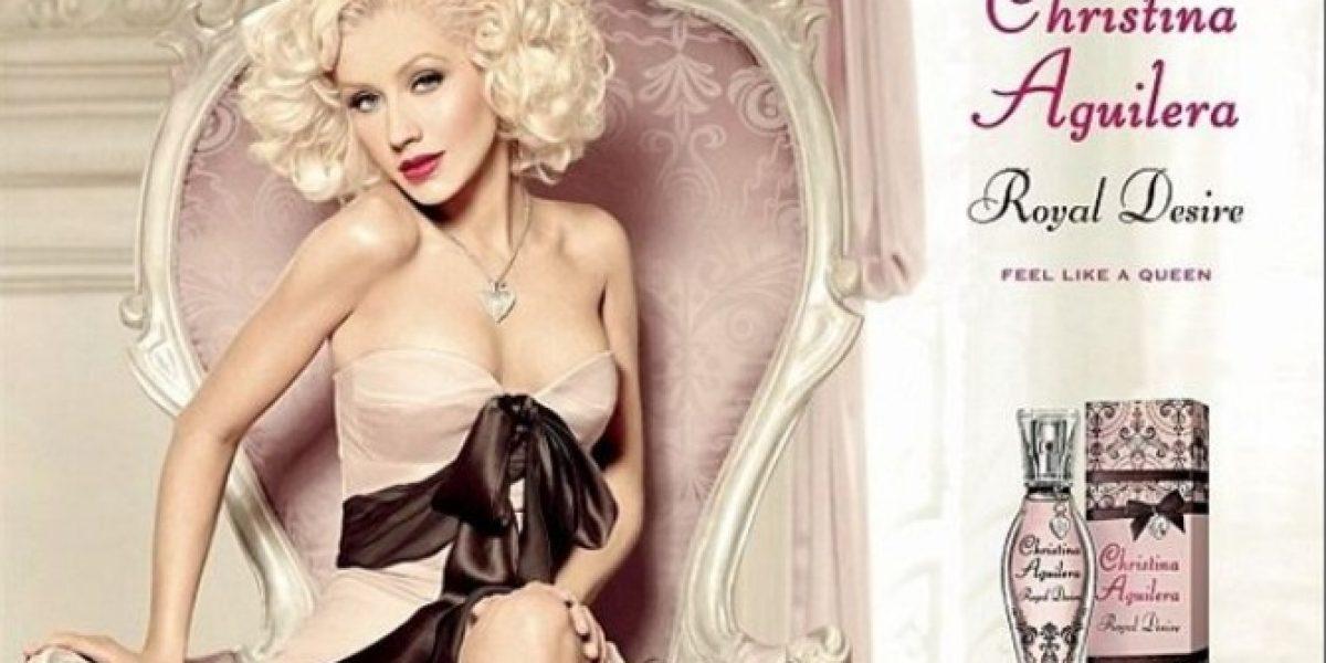 Christina Aguilera con muchos kilos menos gracias al photoshop