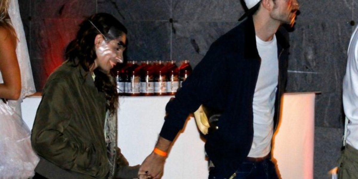 Robert Pattinson y Kristen Stewart captados en una fiesta de Halloween