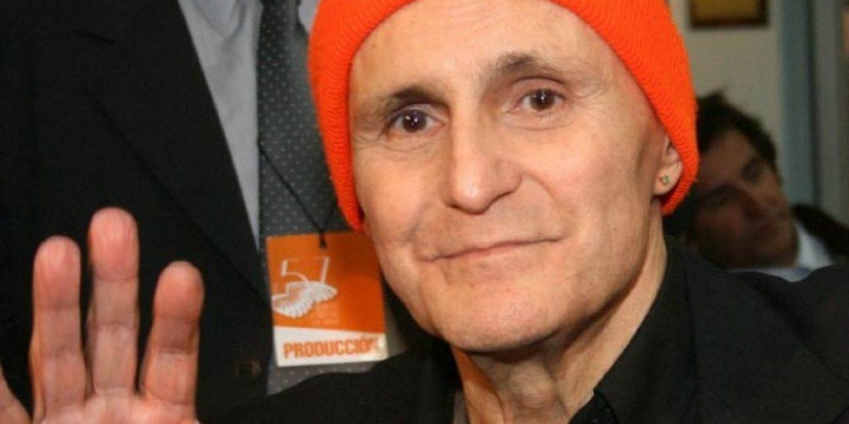 A los 74 años muere Leonardo Favio producto de una neumonía