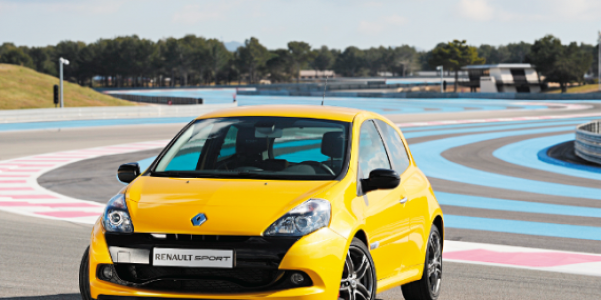 CLIO RS: La mezcla perfecta entre potencia y juventud