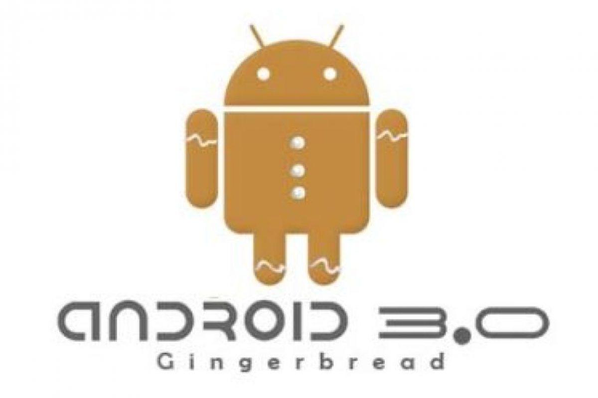 Gingerbread. Versión 2.3. Imagen Por: