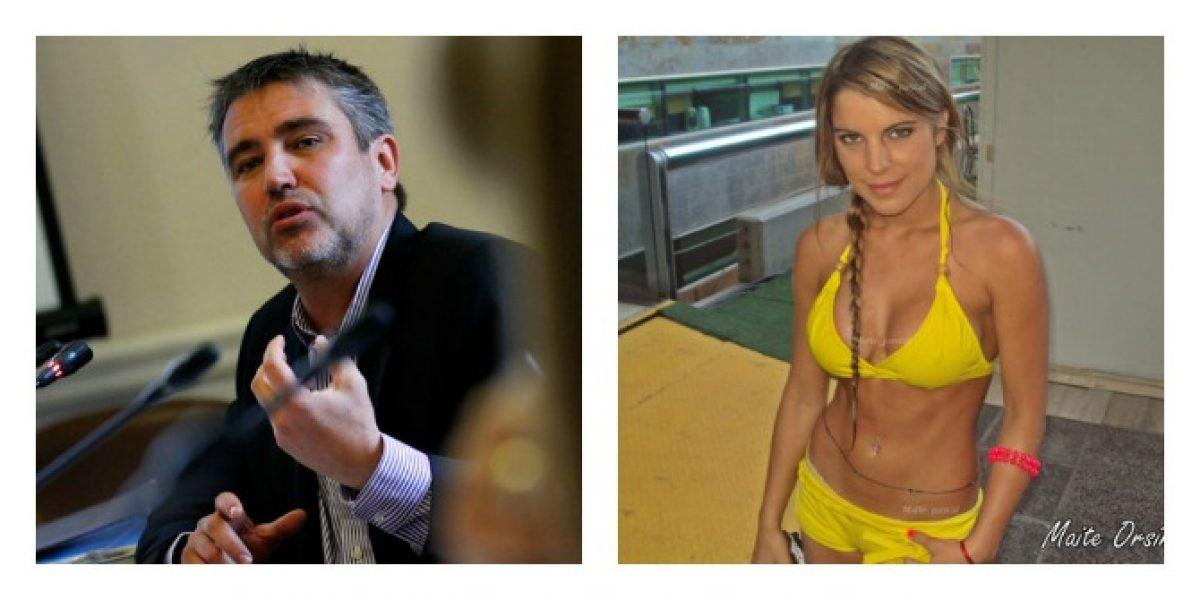 Fulvio Rossi reconoce relación con Maite Orsini