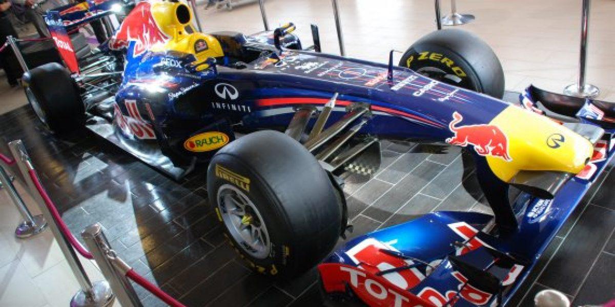 Fórmula 1 en Chile: El RB7 ya llegó a Santiago