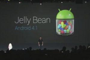 Jelly Bean. Versiones 4.1, 4.1.2 y 4.2. Imagen Por: