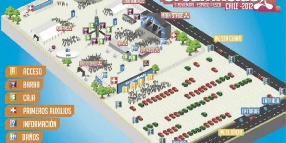 Todo listo para Creamfields 2012: Revisa las recomendaciones